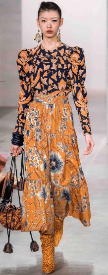fall fashion, fashion trend, womens fashion, vintage fashion, florals, prints